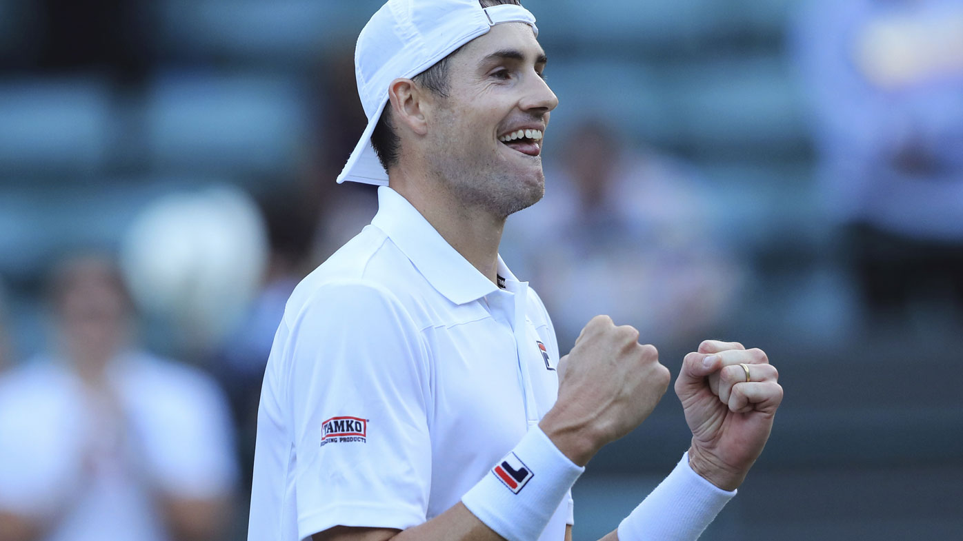 Greensboro native John Isner eliminated in Wimbledon semifinals