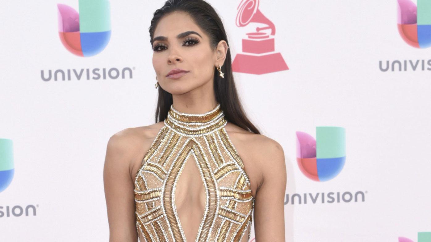 Alejandra Espinoza hosted the 11th season of Univision's beauty pageant.