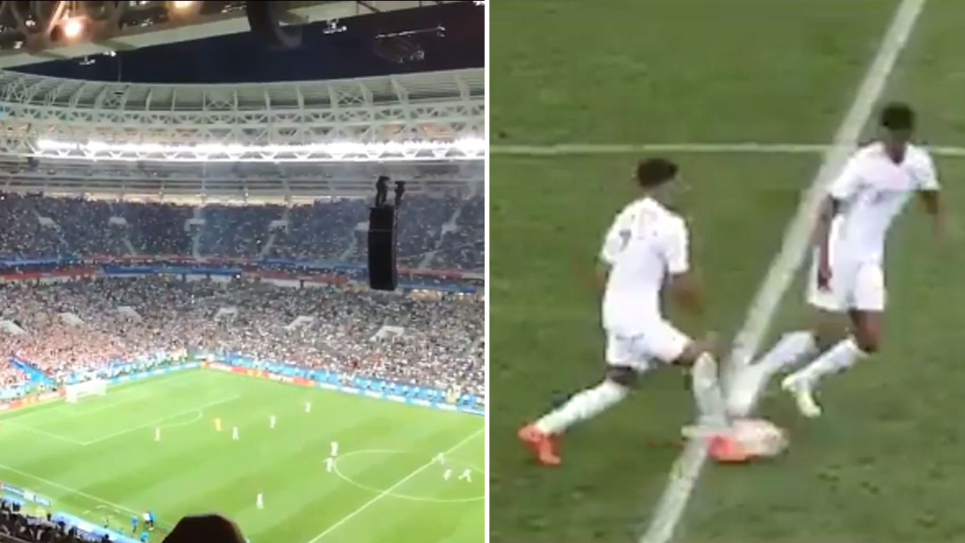 England's cheeky tactics