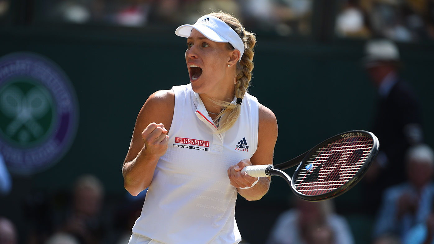 Angelique Kerber is chasing her third Grand Slam title