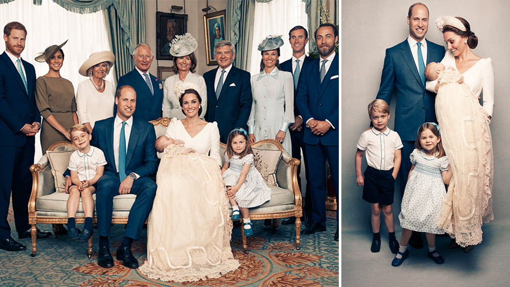 Prince Louis Christening Duke And Duchess Of Cambridge Release
