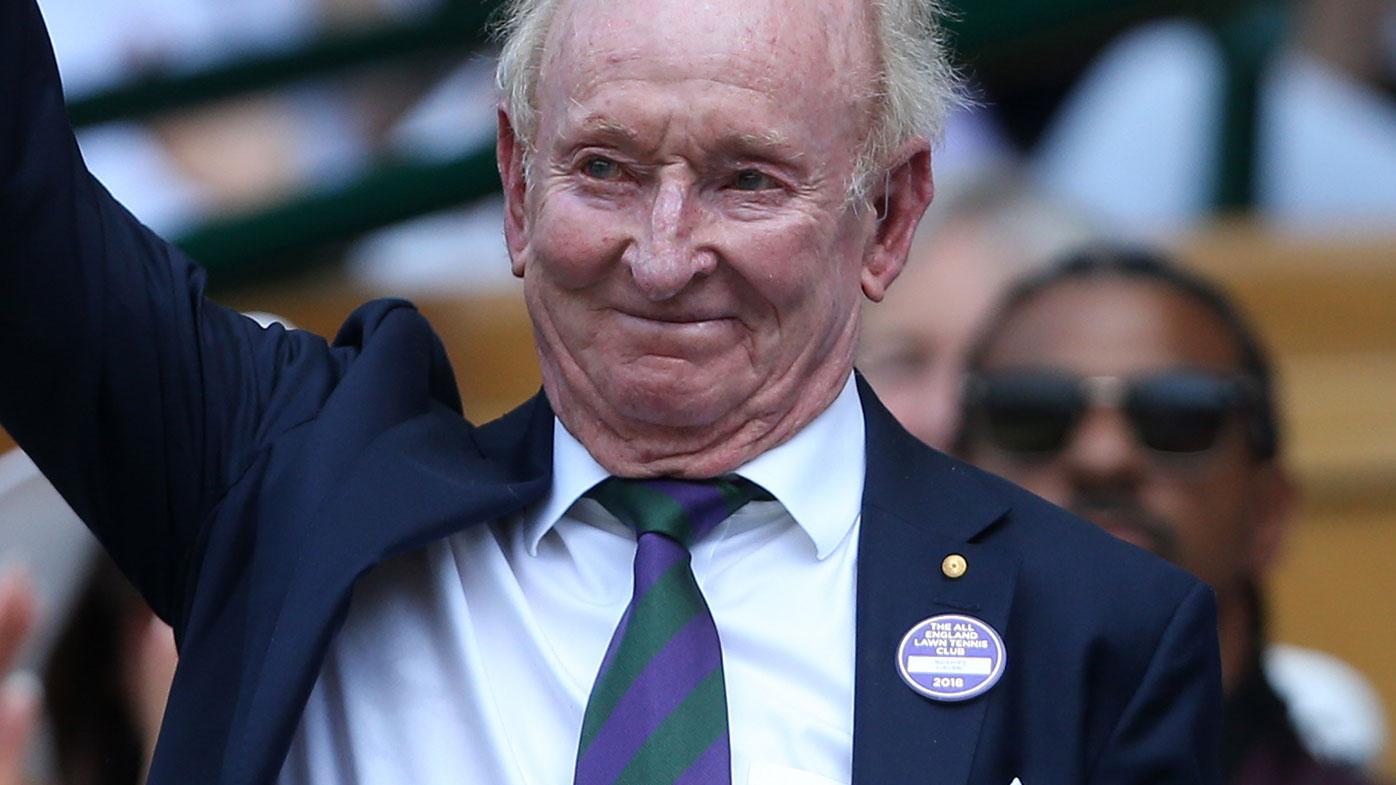 Tennis legend Rod Laver