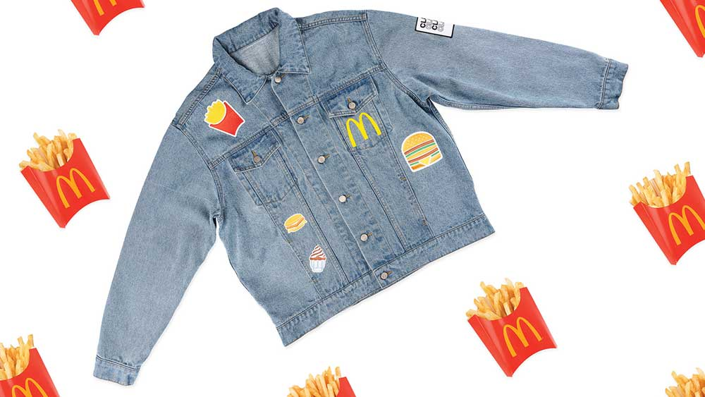 Wear your love of Maccas... but it's limited