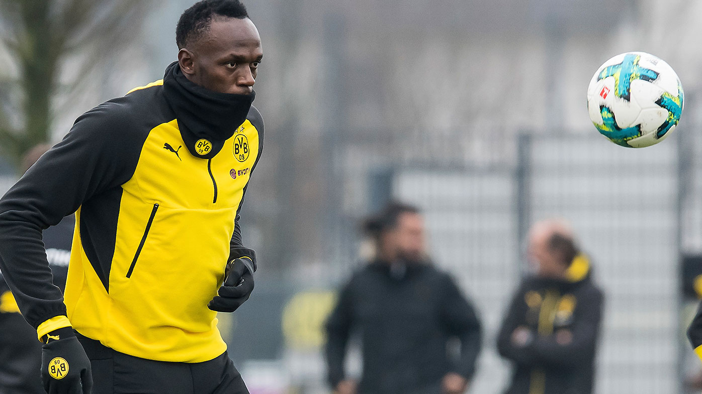 Usain Bolt looks to start pro soccer career in Australia