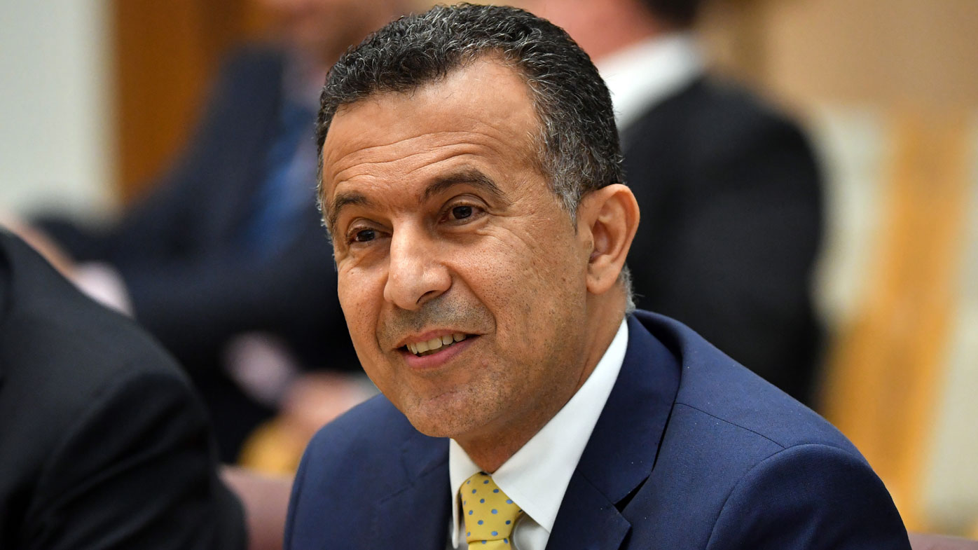 SBS boss Michael Ebeid has resigned ((AAP Image/Mick Tsikas)