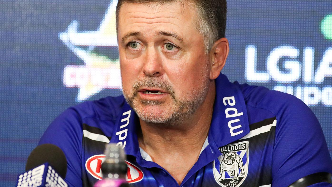 Bulldogs NRL coach Dean Pay