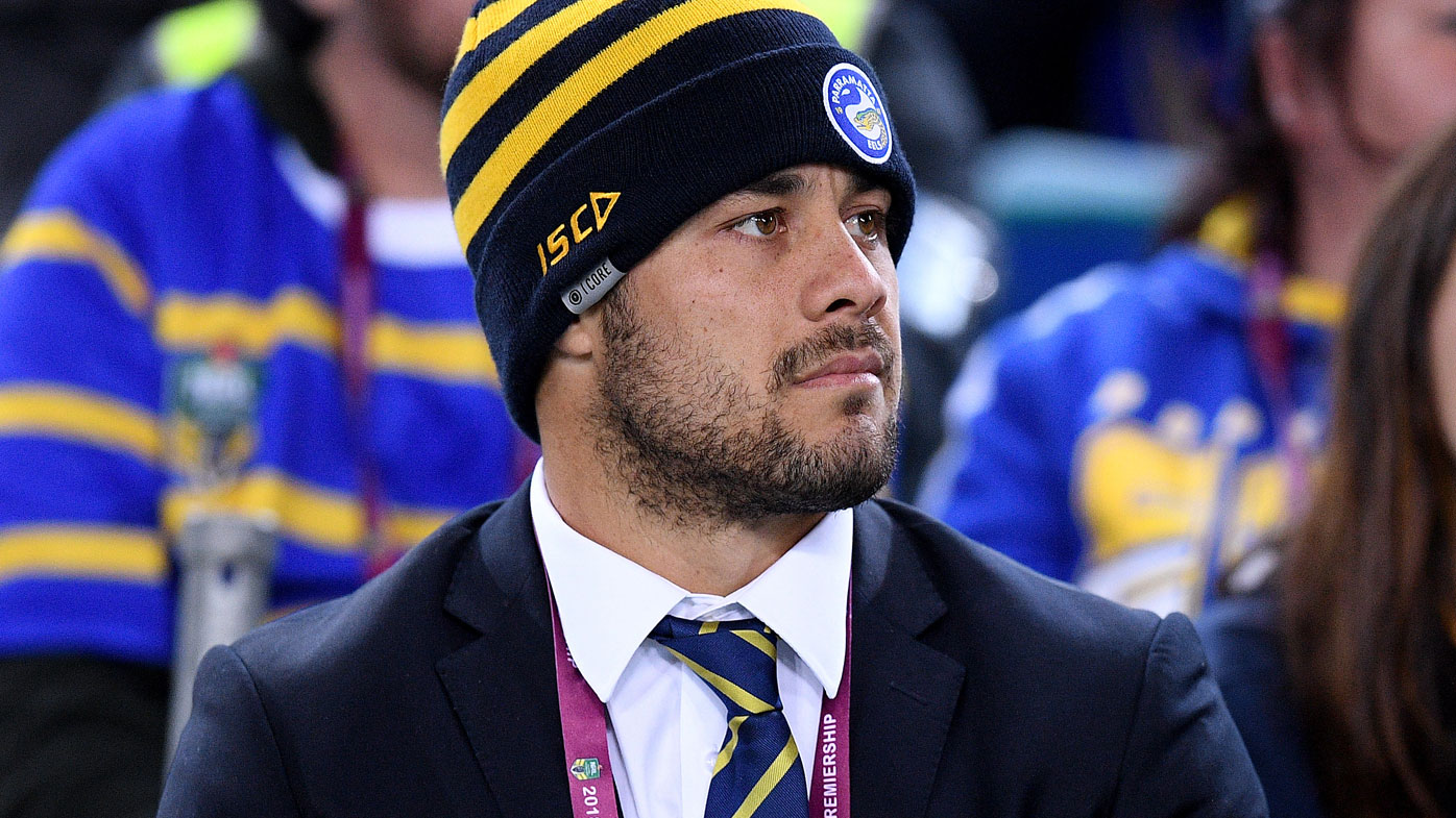Jarryd Hayne has an uncertain future with the Eels.