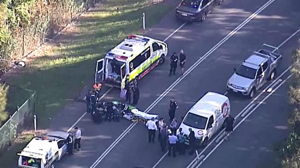 Man shot in the street in Helensvale