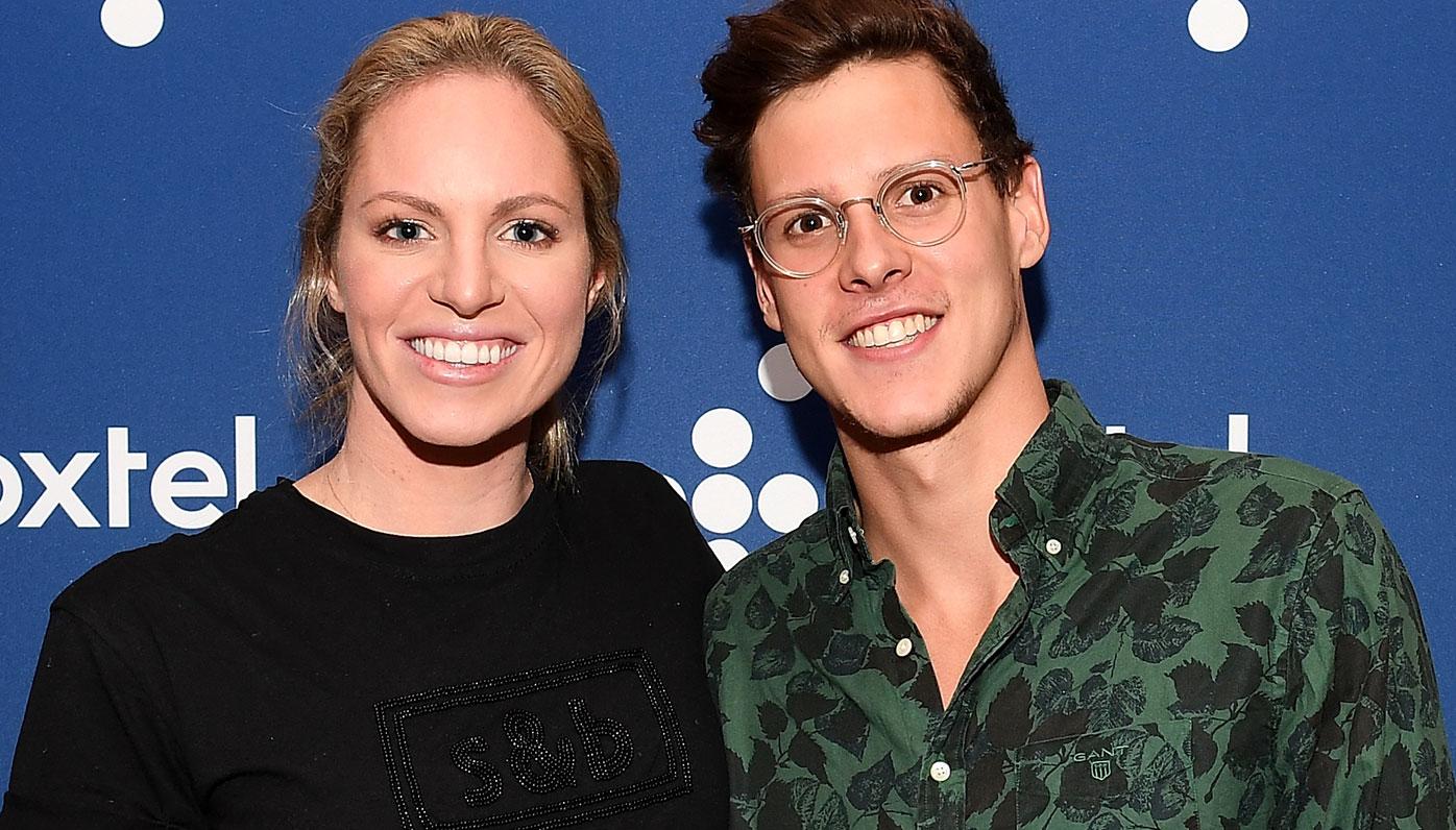 Emily Seebohm and Mitch Larkin