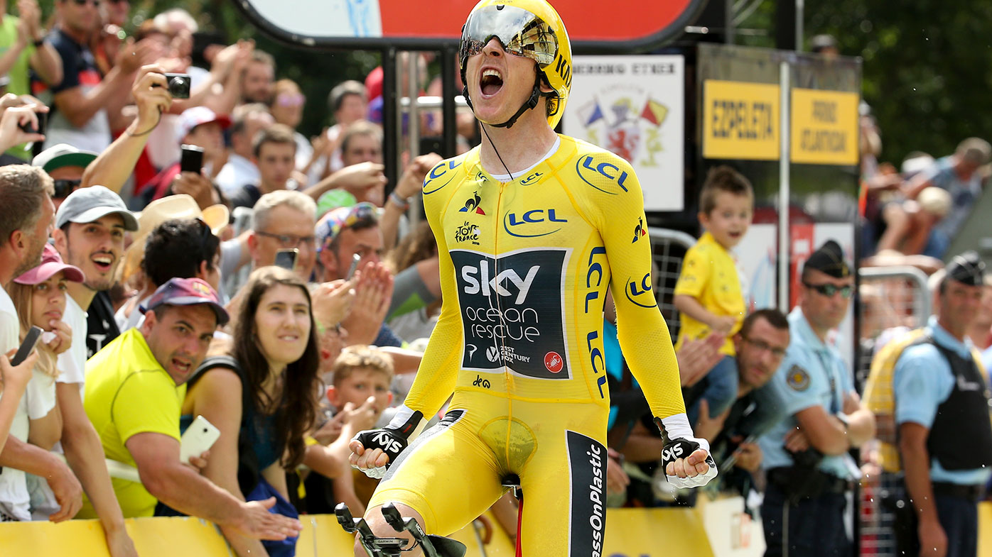Geraint Thomas will become the first Welsh rider to win the Tour de France