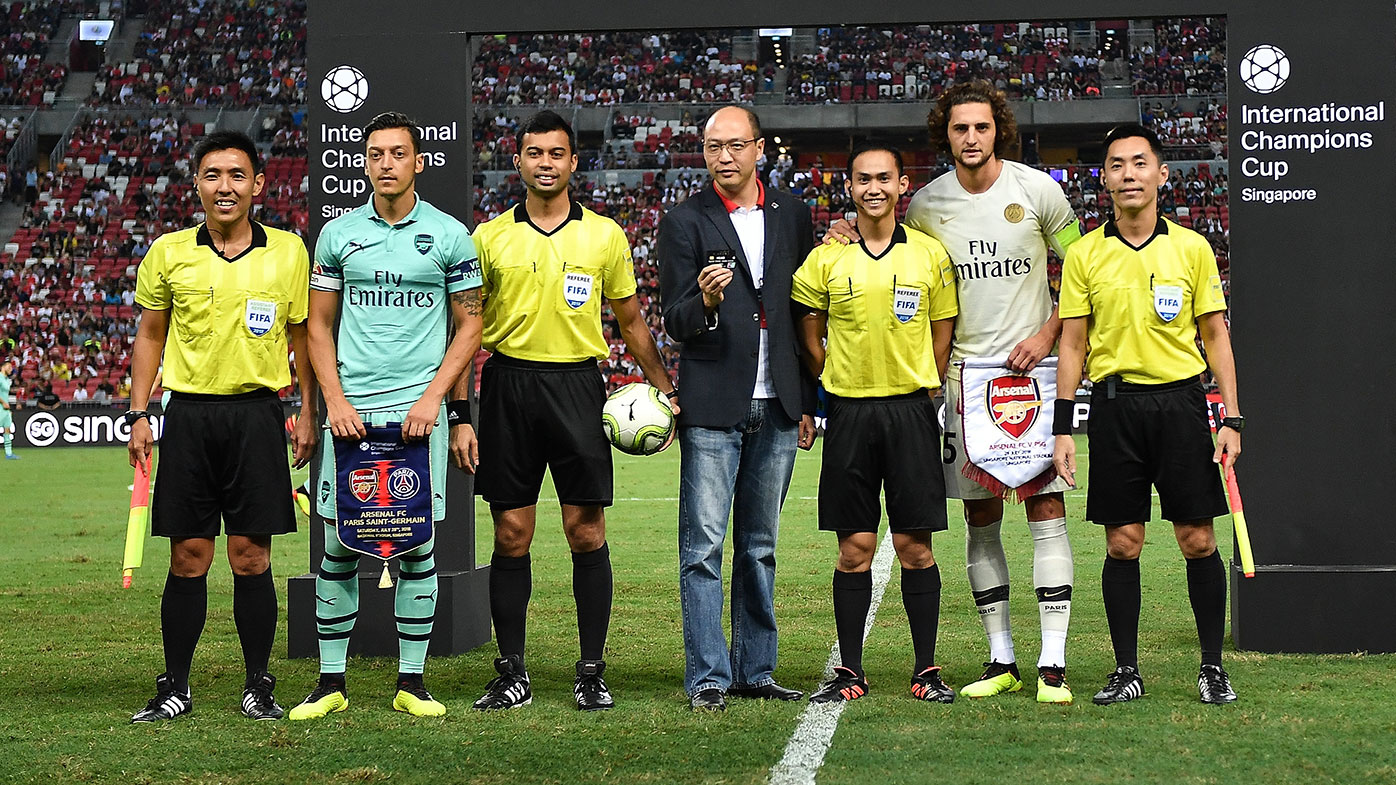 Arsenal and PSG meet in an ICC friendly