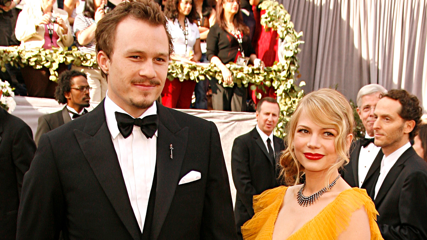 Heath Ledger's father reacts to Michelle Williams ...