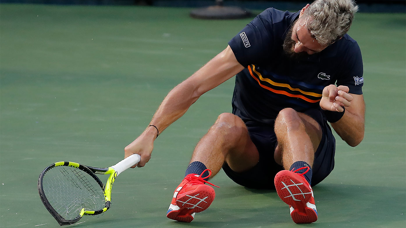 Washington Open: Benoit Pare fined $16,500 for epic meltdown