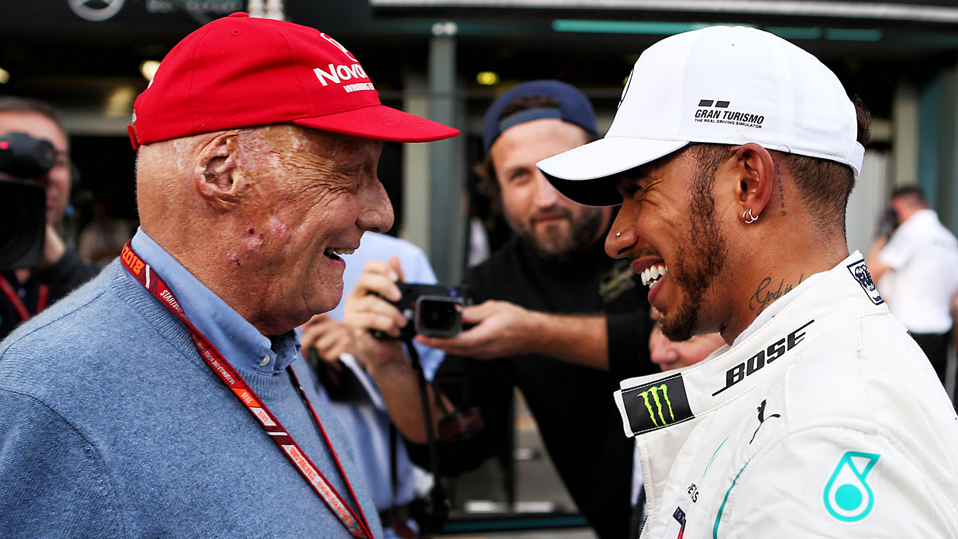 F1 great Niki Lauda undergoes successful lung transplant