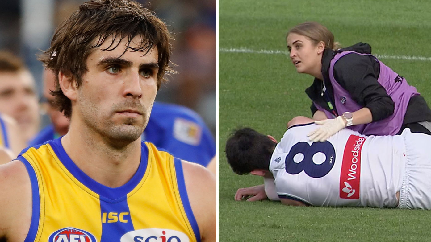 Andrew Gaff and Andrew Brayshaw