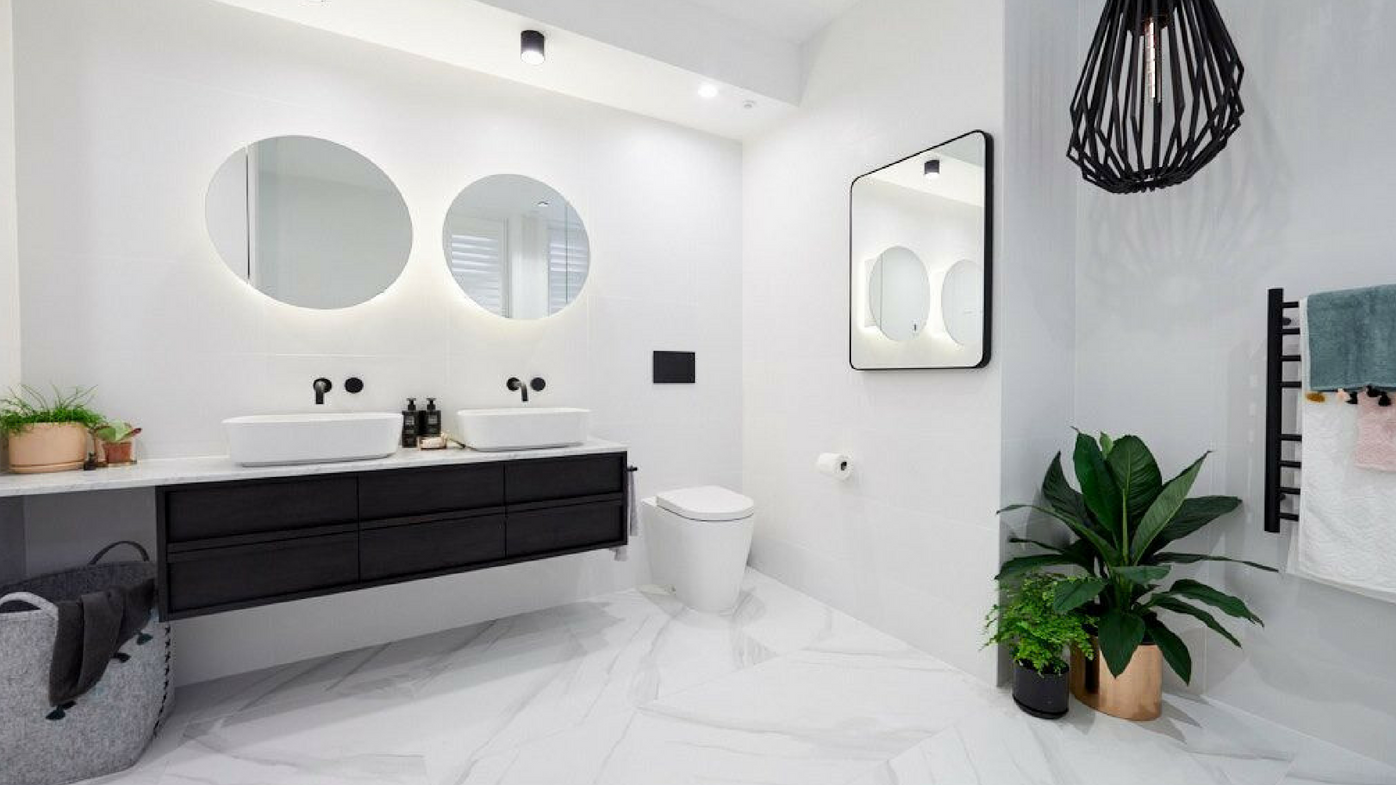 The Block 2018: Main bathroom reveals from week one - 9Homes