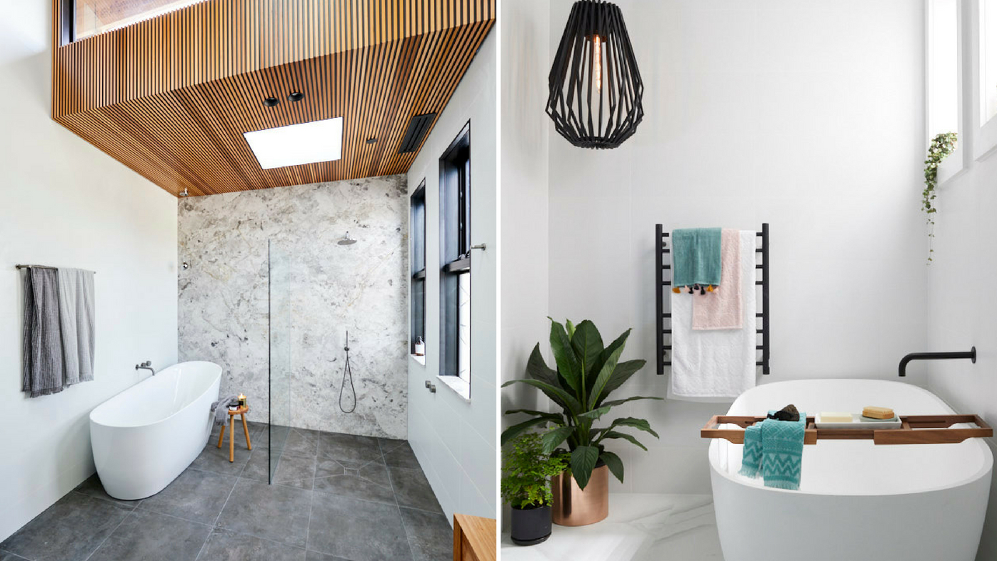 The Block 2018 Main Bathroom Reveals From Week One