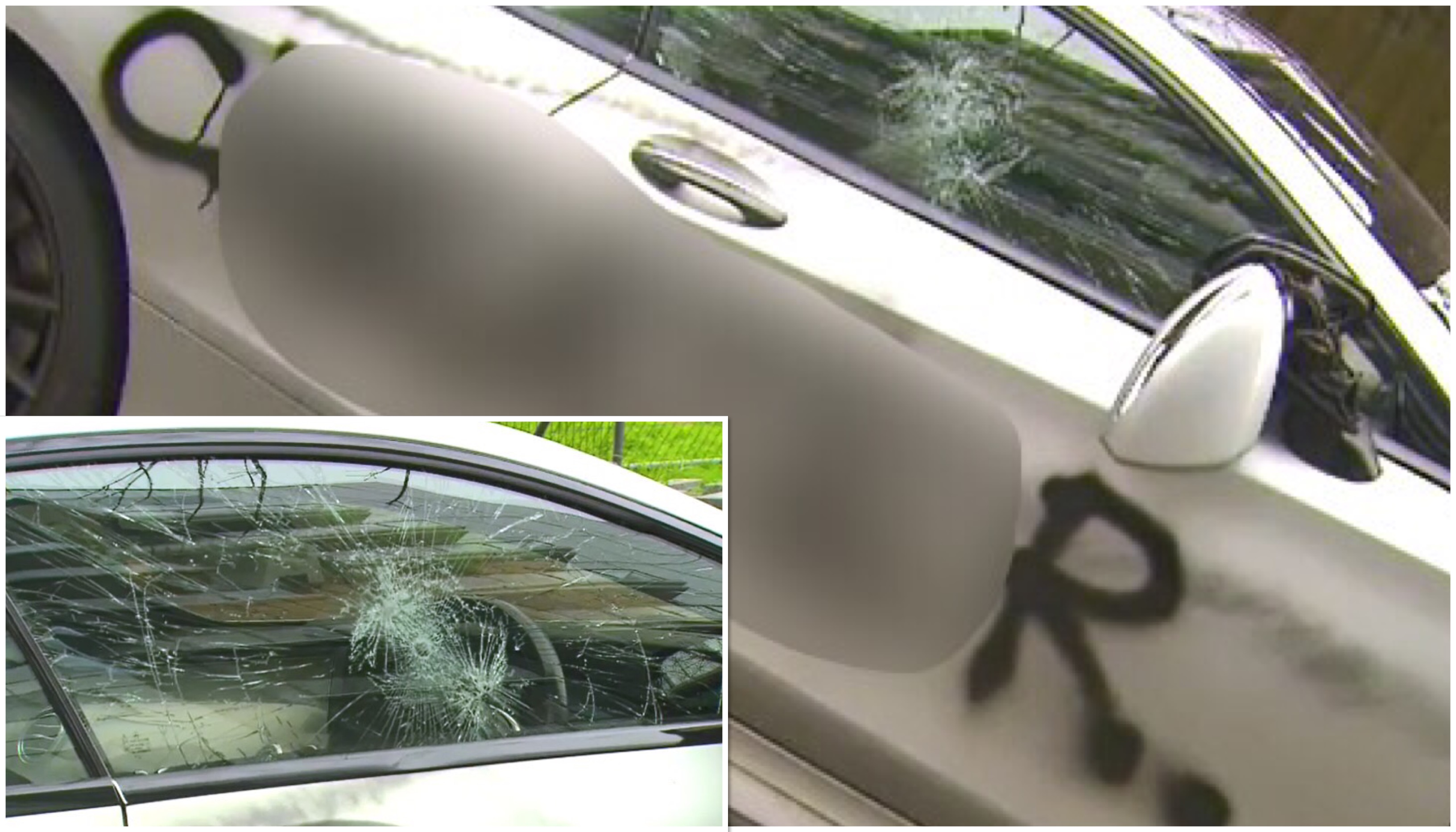 Adelaide enraged woman vandalises 400 000 mercedes benz for Mercedes benz of reno staff