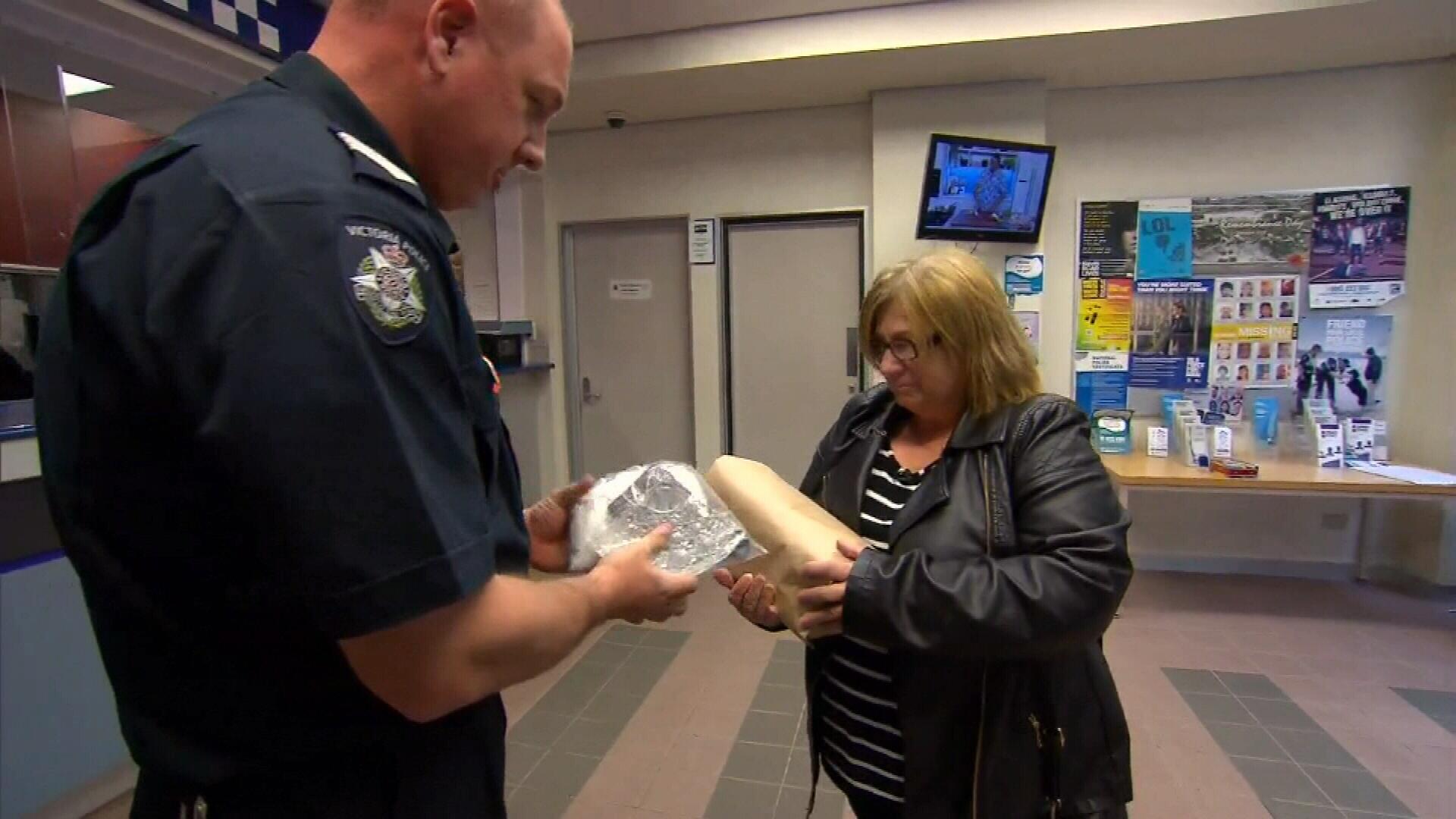 'Like losing him again': Son's ashes stolen in break-in