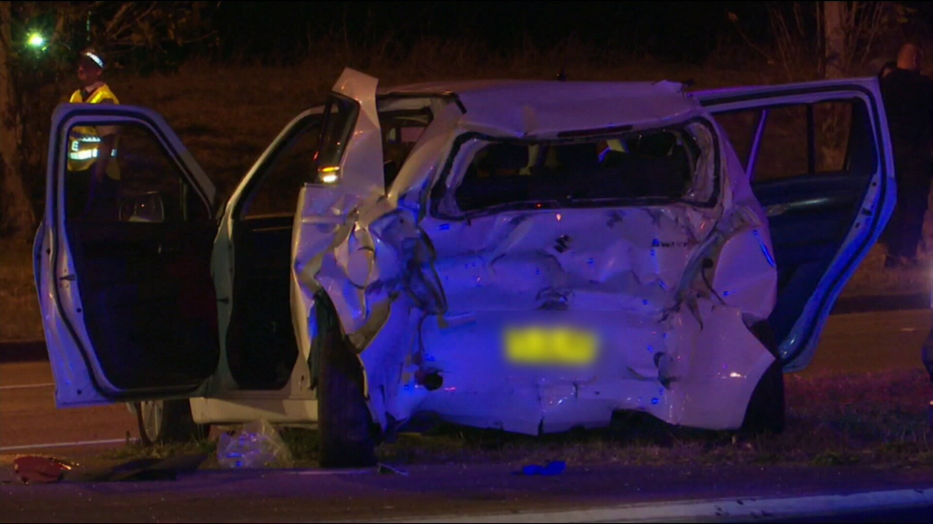 Blacktown crash: Woman fighting for life after her car hit by truck