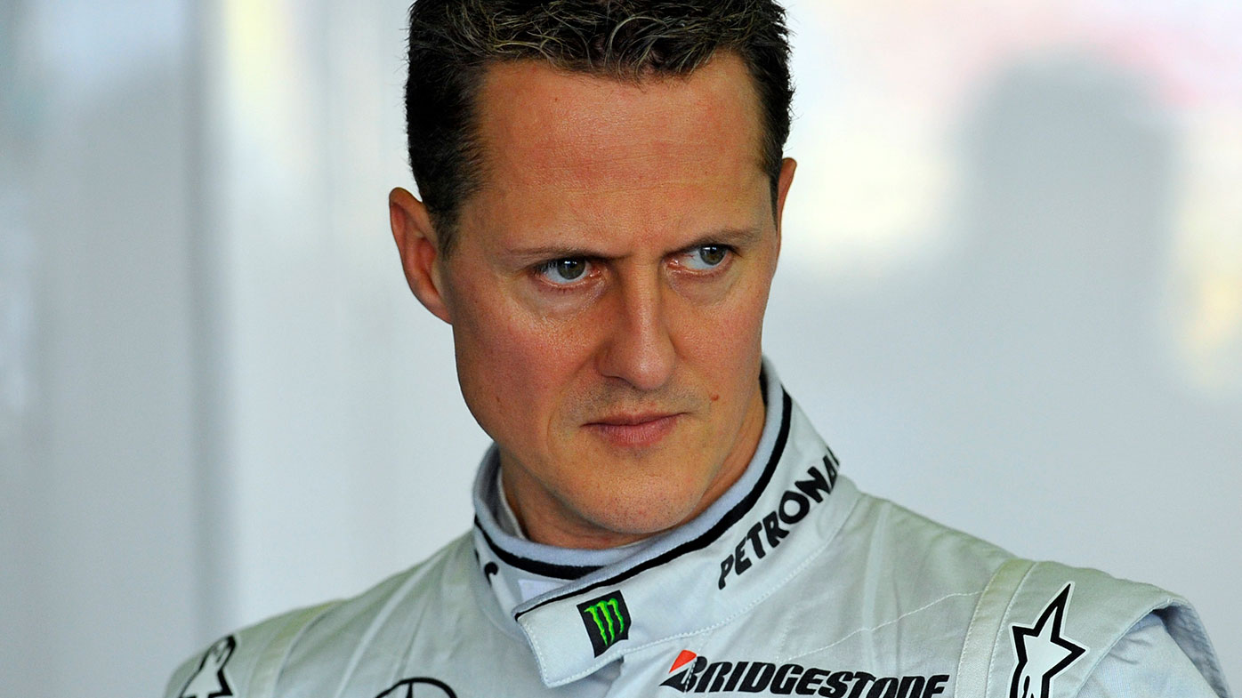 Formula One world champion Michael Schumacher