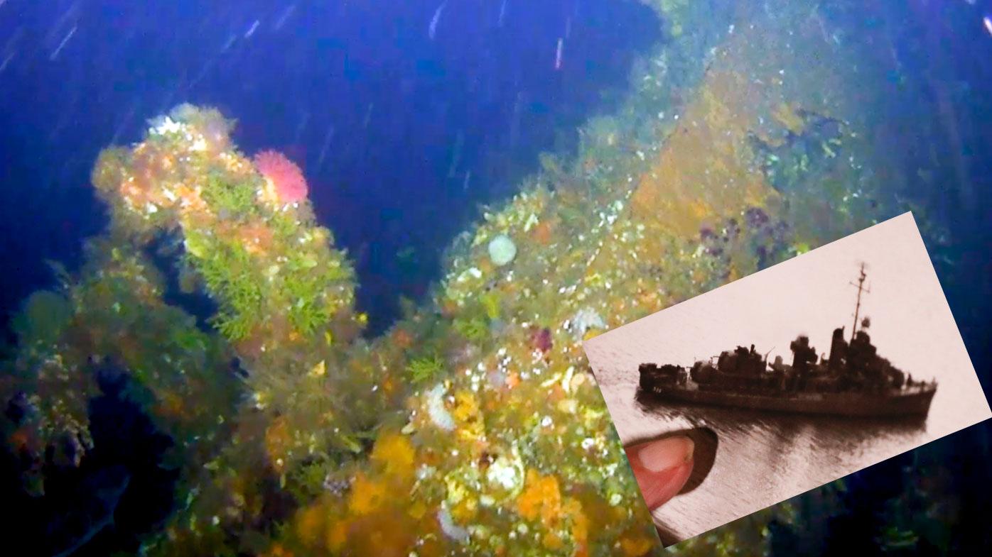 Shipwreck from World War II's 'forgotten battle' found off Alaska