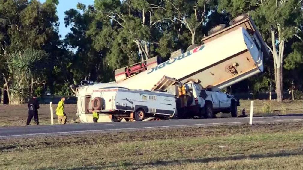 Car Crash Bruce Highway Bowen