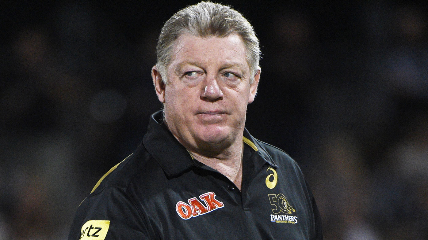 Panthers boss Phil Gould.