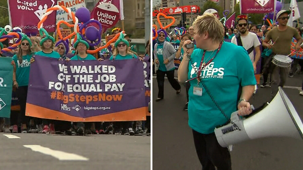Parents urged to collect kids early after childcare workers strike