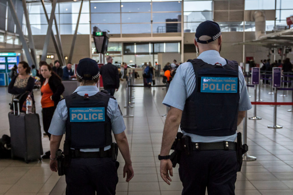 Australian Federal Police airport teams are just for show