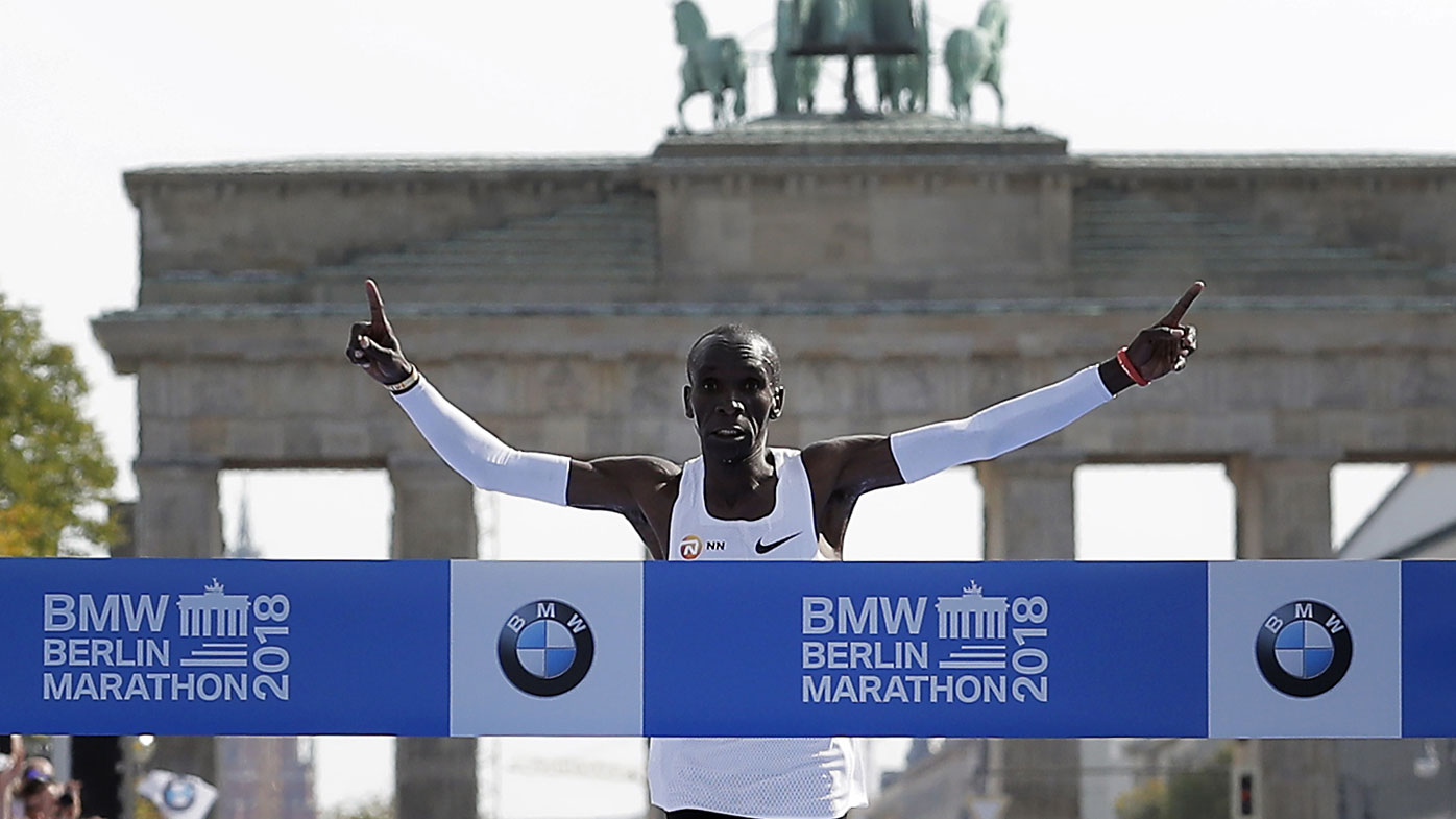 Eliud Kipchoge smashed the world marathon record by more than a minute