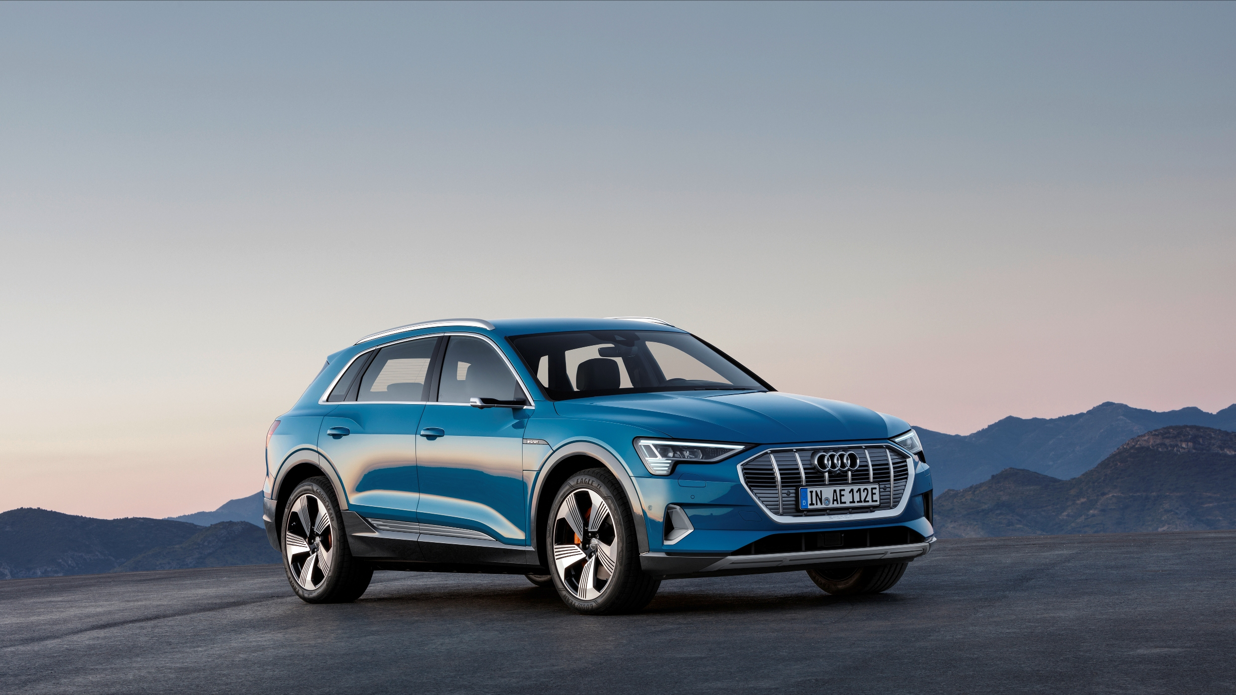 audi reveals new e-tron quattro electric car in san francisco