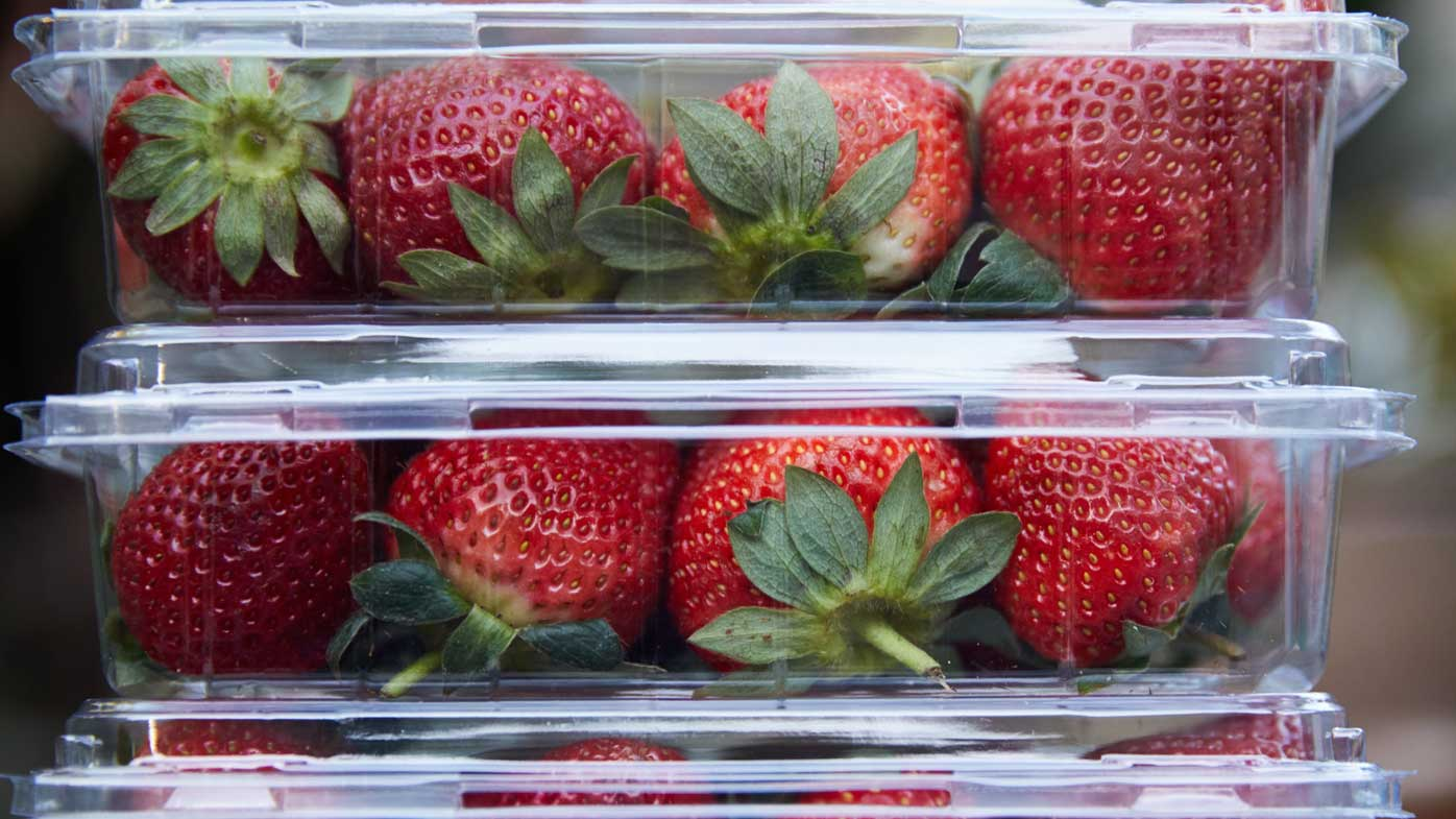 Sharp objects found in strawberries in South Australia