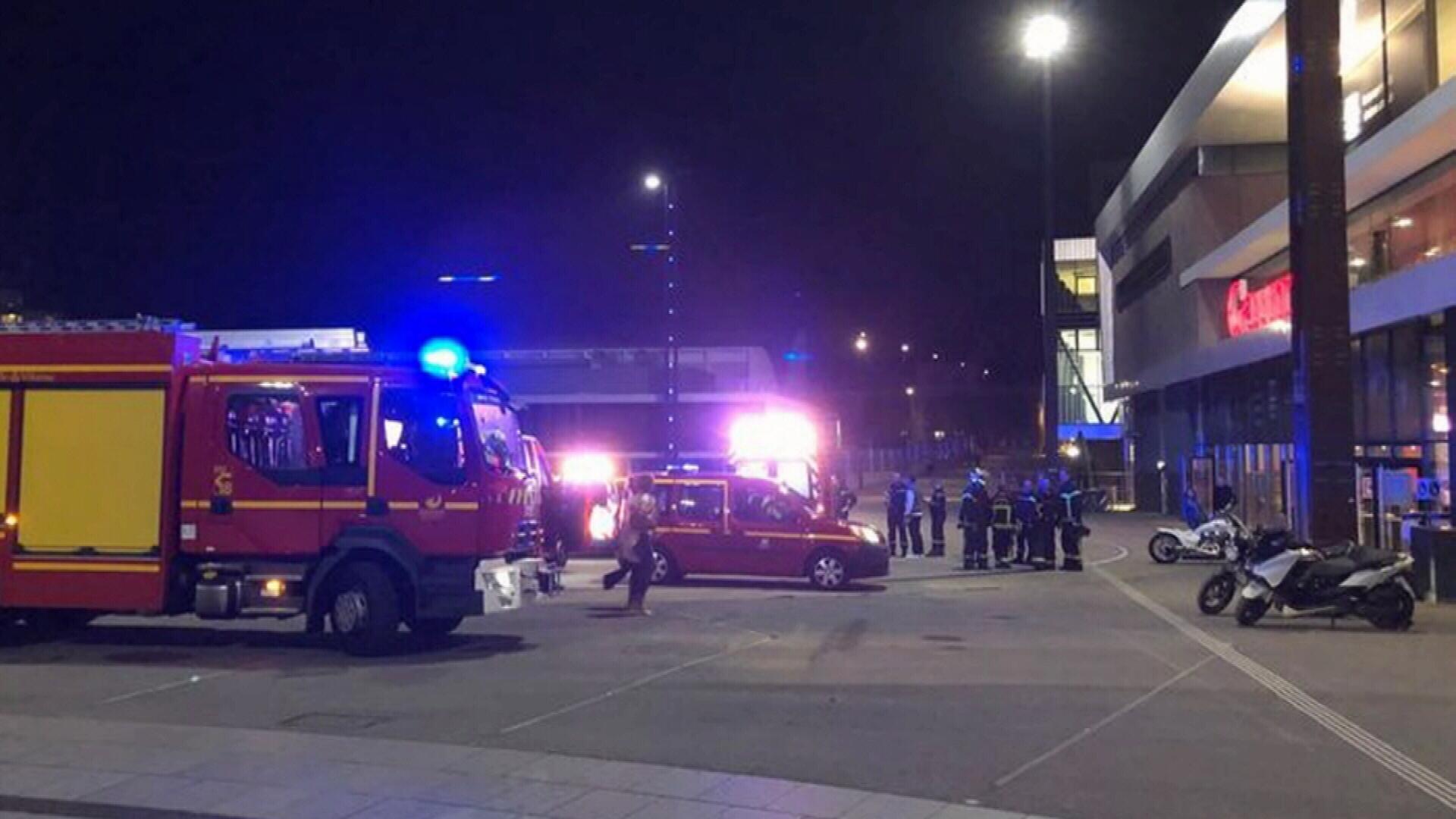 Knifeman stabs movie-goers in France, leaving two injured