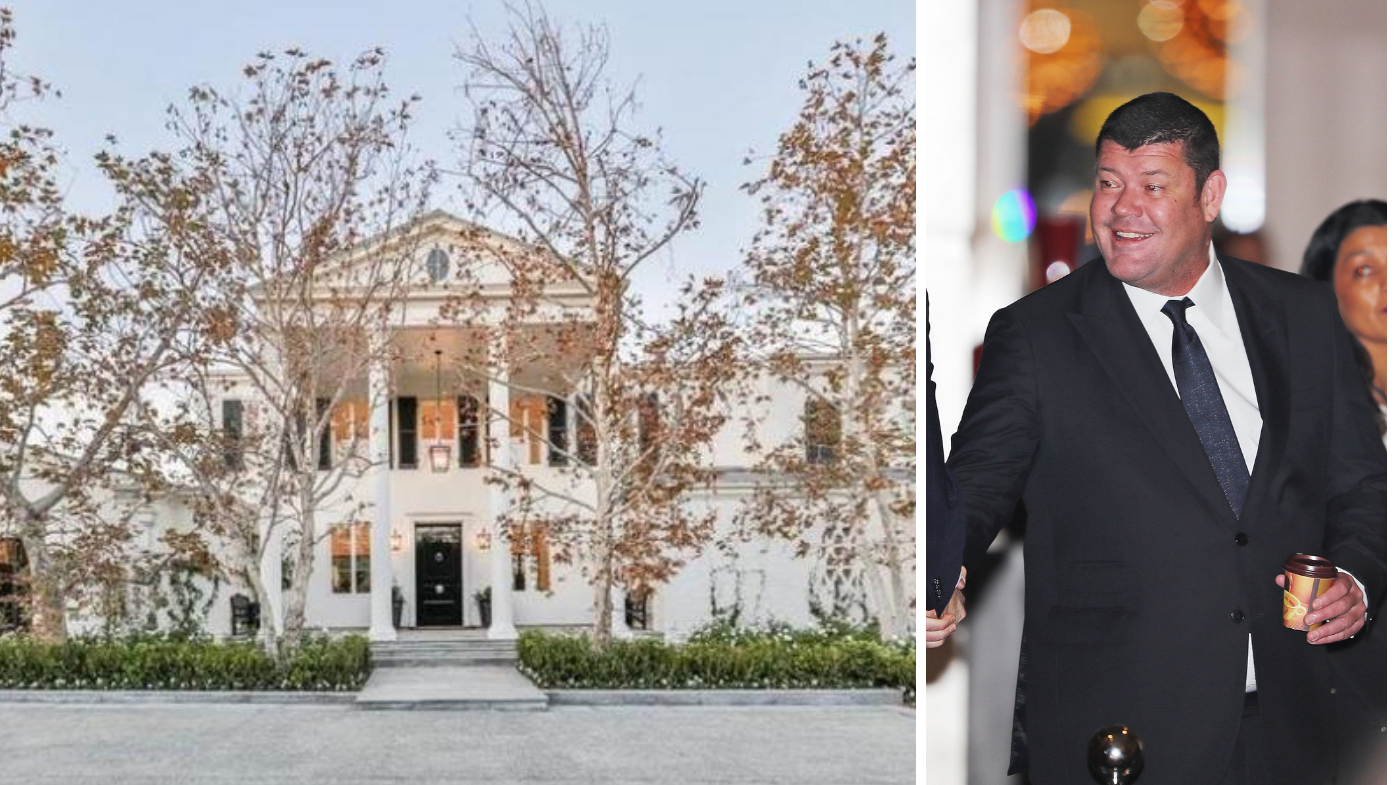 James Packer drops $80 million on latest property purchase