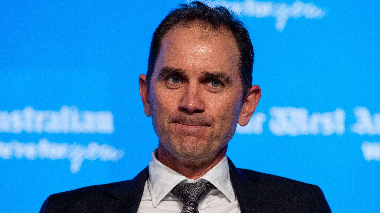 Australia cricket coach Justin Langer.
