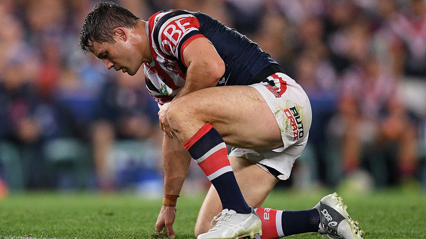 Cooper Cronk admits he's a 'long shot' to play in the NRL grand final.