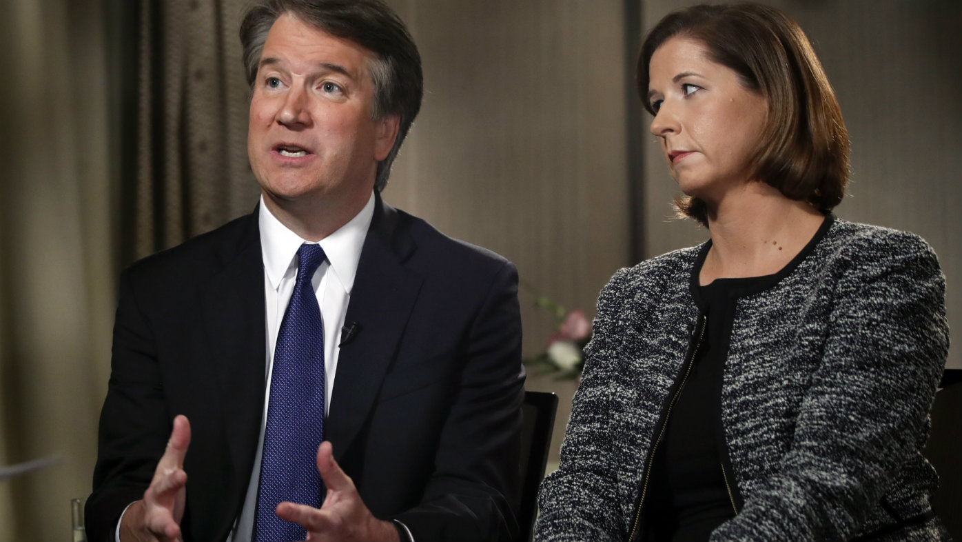 Kavanaugh 'a virgin' at time of alleged sexual assaults