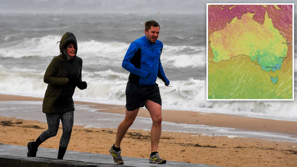 'Coldest night in 15 years': Spring chill sweeps across south-east