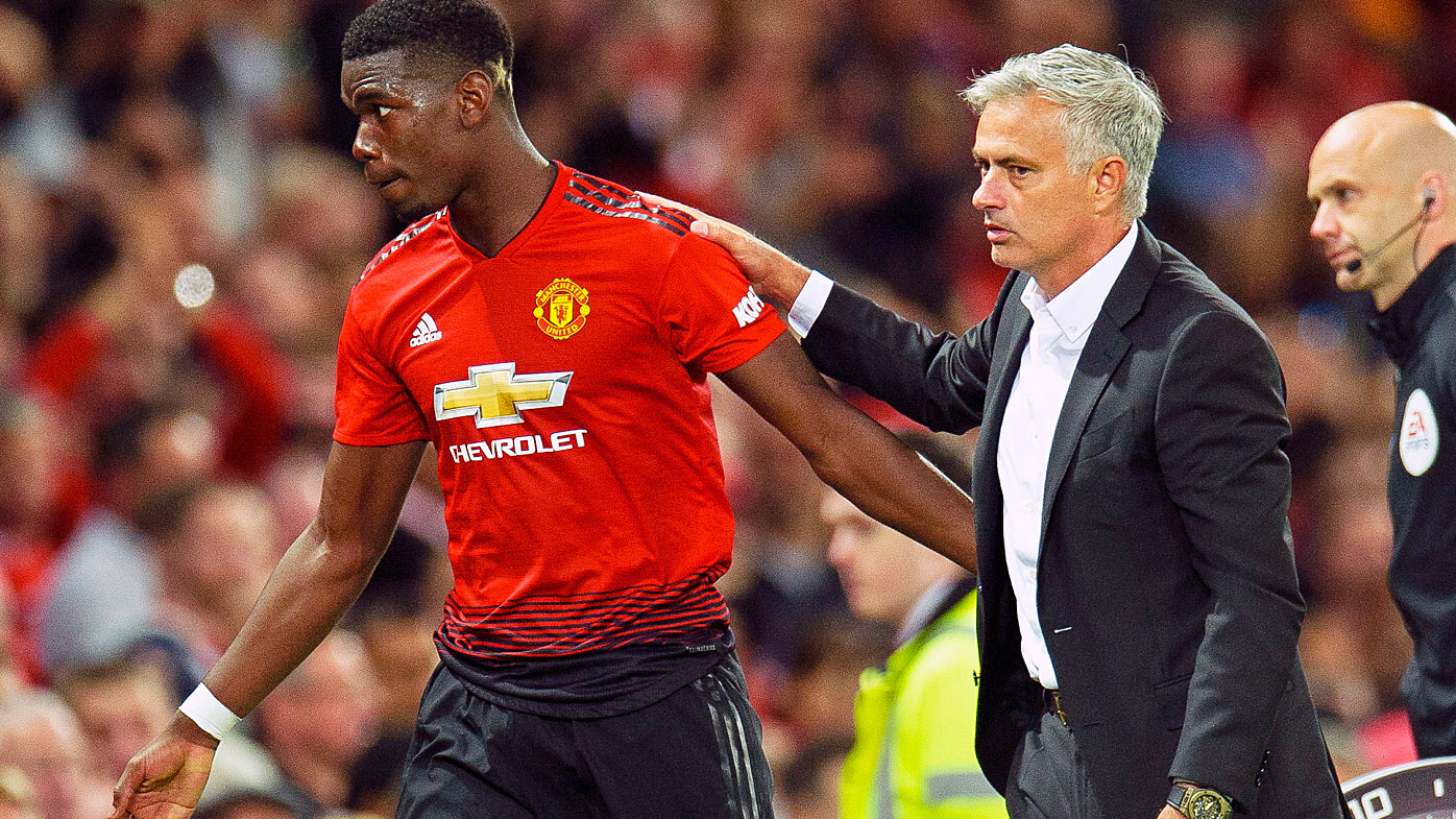 Jose Mourinho Tells Paul Pogba He Won't Captain United Again