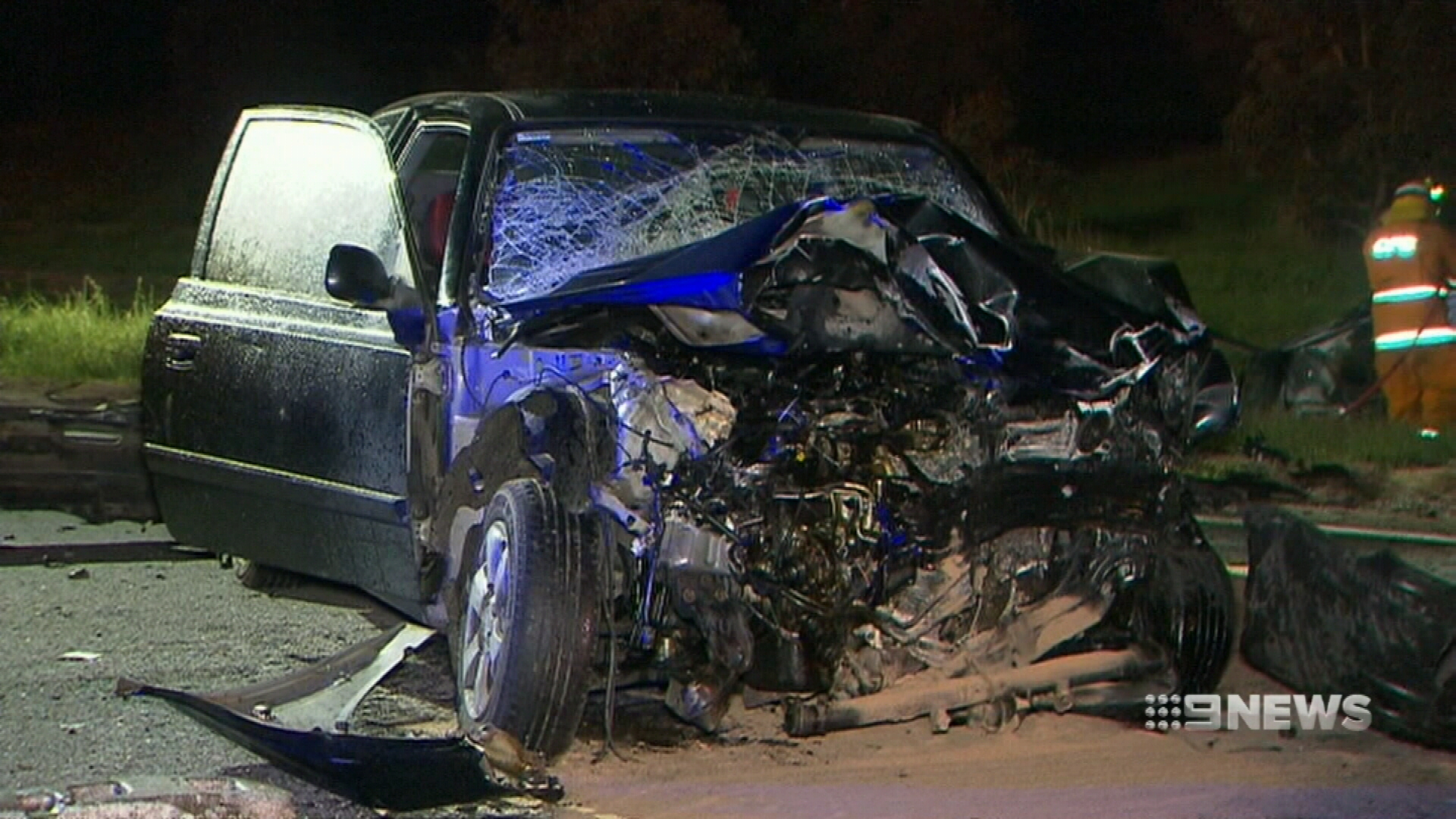 Driver S Miraculous Escape From Horror Adelaide Car Crash