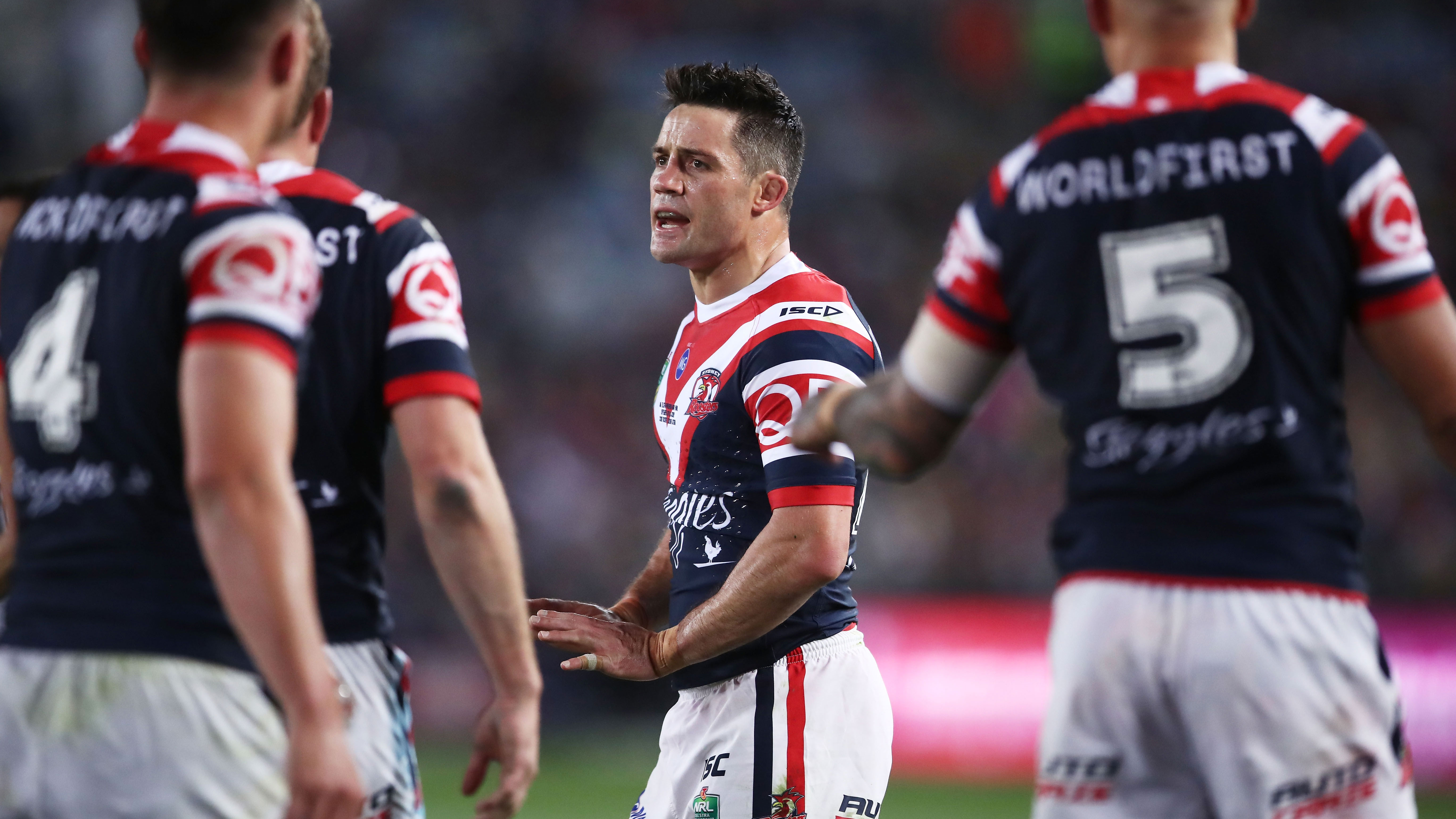 Roosters star Cooper Cronk.