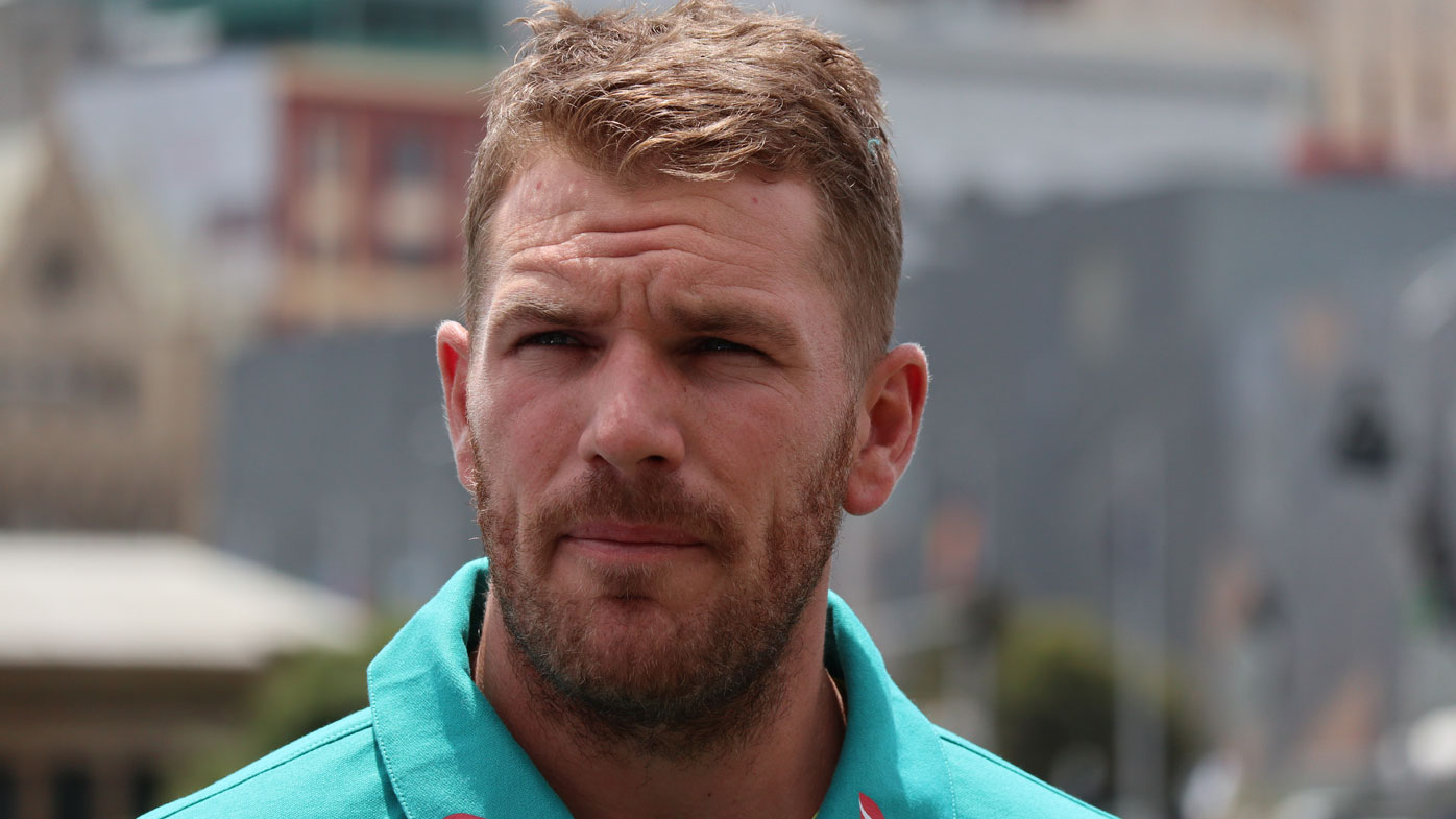 Aaron Finch Test debut