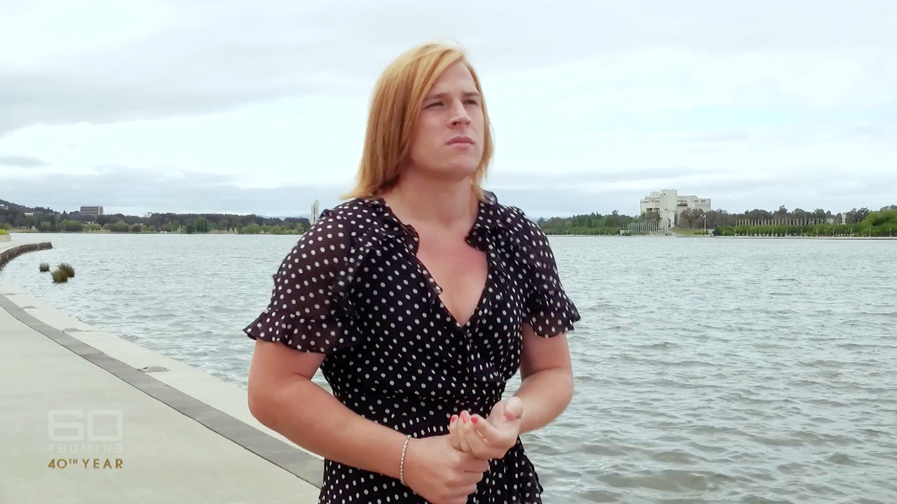 Transgender footballer Hannah Mouncey says the AFL 'never wanted' her to play