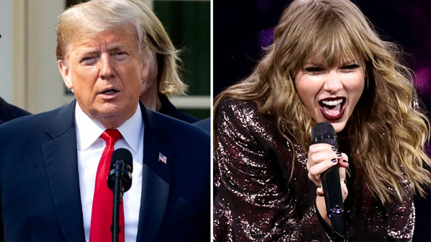 Donald Trump says he likes Taylor Swift's music less post-endorsement