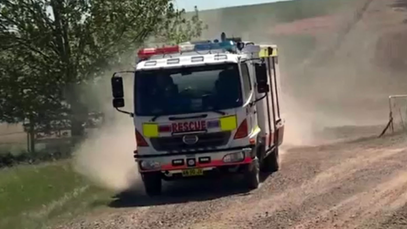 Teen dead after ute rolls on rural NSW property