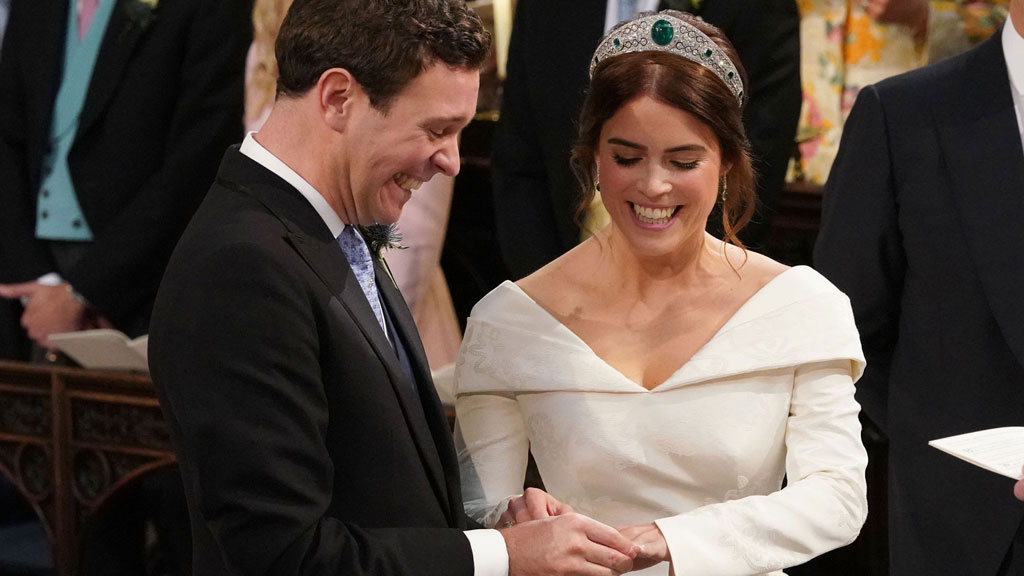 440d81d960f65 Live coverage  Princess Eugenie and Jack Brooksbank s royal wedding ...
