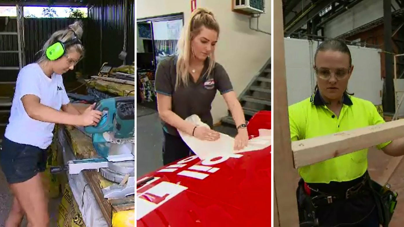 'Lady tradies' transforming the industry