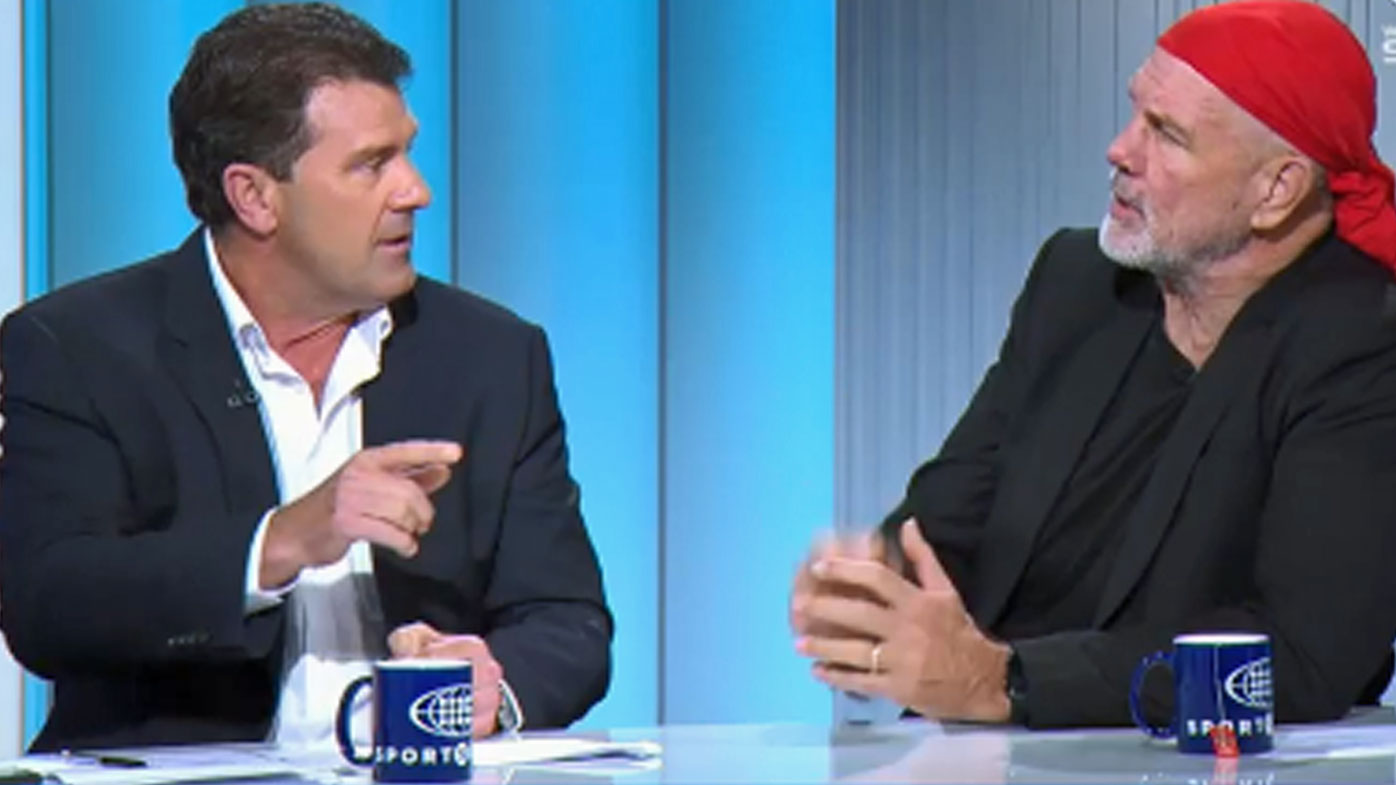 Mark Taylor and Peter FitzSimons