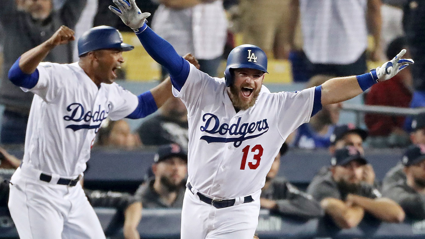 Dodgers beat Red Sox in Game 3
